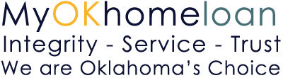 My OK Home Loan, Integrity -Service -Trust We are Oklahoma's Logo